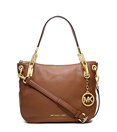Brooke Leather Medium Shoulder Bag