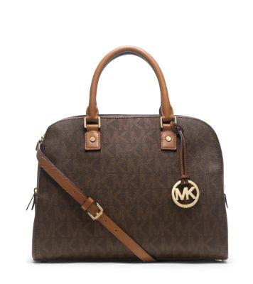 Michael kors jet set travel large satchel handbag