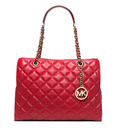 Susannah Large Quilted-Leather Tote