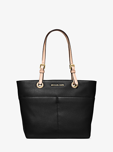 Bedford Leather Tote by Michael Kors