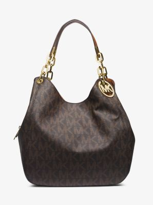 Fulton Large Logo Shoulder Bag by Michael Kors