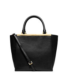 Lana Medium Leather Tote