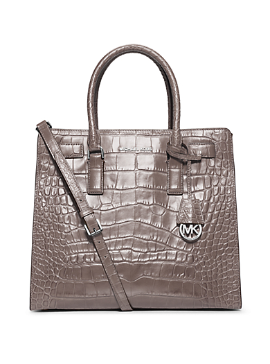 Dillon Large Embossed-Leather Tote by Michael Kors