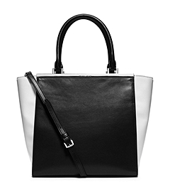 Lana Large Color-Block Leather Tote