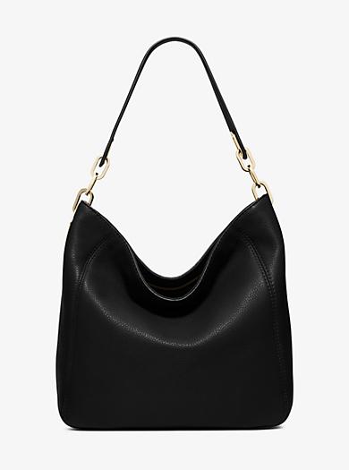 Fulton Medium Leather Shoulder Bag by Michael Kors