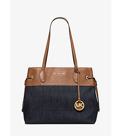 Marina Large Denim Tote  by Michael Kors