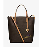 Signature Logo Large Convertible Tote