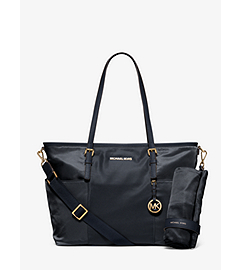 Jet Set Large Nylon Diaper Bag     by Michael Kors