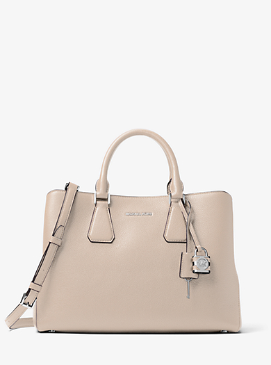 Camille Large Leather Satchel  by Michael Kors