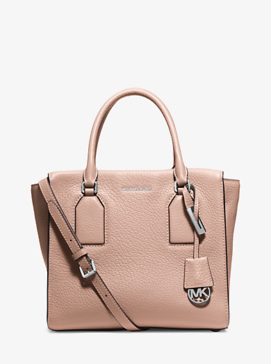 Selby Large Leather Satchel by Michael Kors