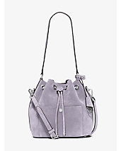 Greenwich Suede Bucket Bag
