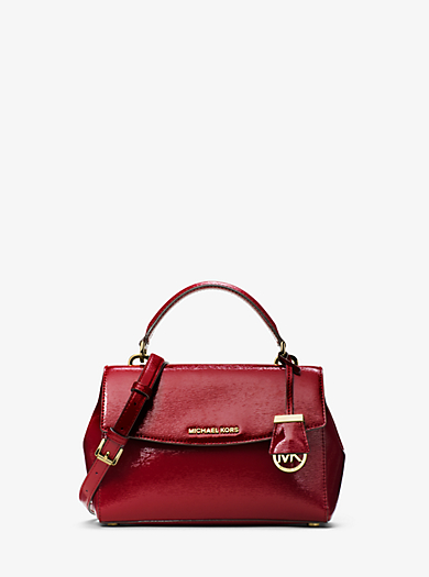 Henkeltasche Ava Small aus Lackleder by Michael Kors