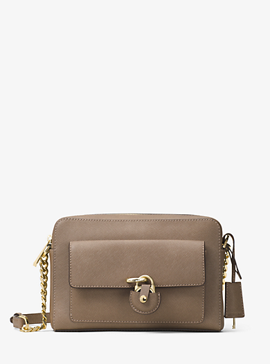 Emma Medium Leather Messenger by Michael Kors