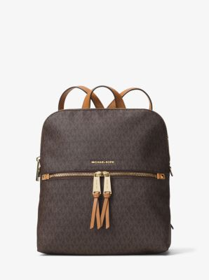 마이클 마이클 코어스 백팩 Michael Michael Kors Rhea Medium Slim Logo Backpack