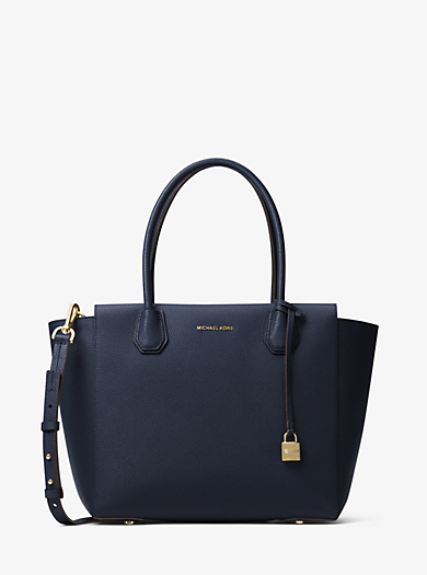 Borsa a mano Mercer grande in pelle by Michael Kors
