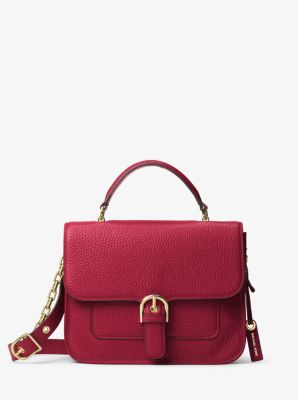 Cooper Large Leather Satchel by Michael Kors