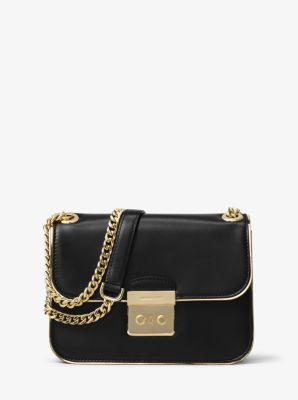 Sloan Editor Medium Leather Shoulder Bag