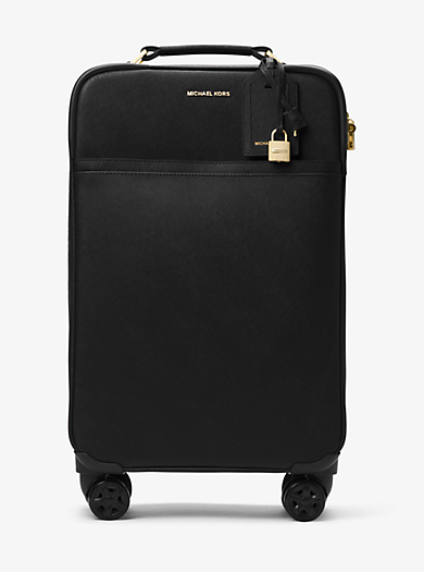 Large Saffiano Leather Suitcase by Michael Kors
