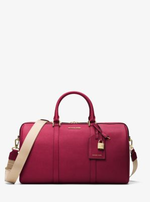 Jet Set Travel Large Leather Weekender by Michael Kors