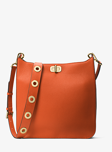 Borsa messenger Sullivan grande in pelle by Michael Kors