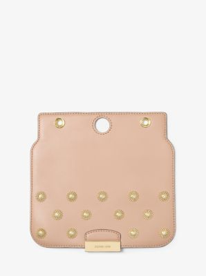 Sloan Select Mix and Match Medium Studded Leather Flap by Michael Kors