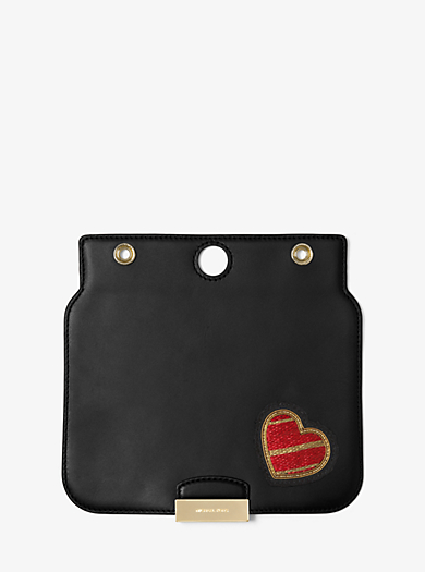 Sloan Select Mix and Match Medium Appliqué Leather Flap by Michael Kors