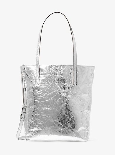 Tote Emry grande in pelle effetto increspato by Michael Kors