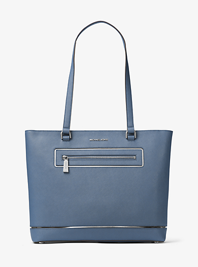 Jet Set Large Leather Tote by Michael Kors