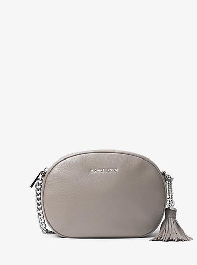 Ginny Medium Leather Crossbody by Michael Kors