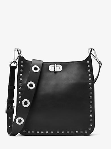 Sullivan Medium Leather Messenger by Michael Kors