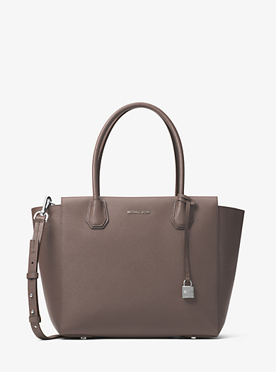 Borsa a mano Mercer grande in pelle accoppiata by Michael Kors