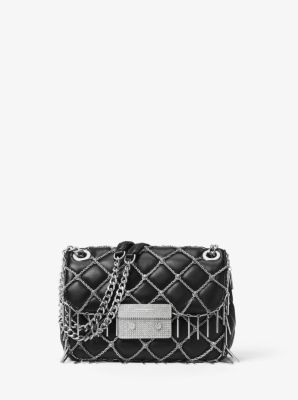 Sloan Tango Small Quilted-Leather Shoulder Bag