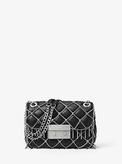 Sloan Tango Small Quilted-Leather Shoulder Bag by Michael Kors