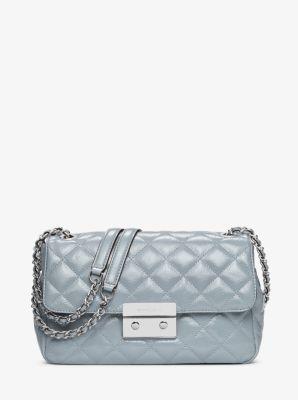 Sloan Large Quilted-Leather Shoulder Bag by Michael Kors