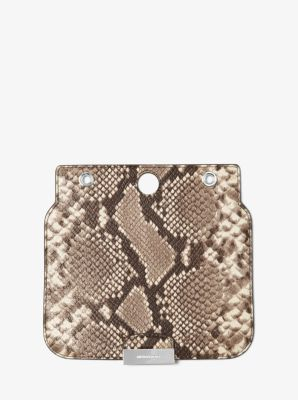 Sloan Select Mix and Match Medium Embossed-Leather Flap by Michael Kors