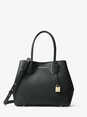 마이클 마이클 코어스 Michael Michael Kors Mercer Gallery Medium Leather Satchel,BAROLO