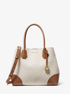 마이클 마이클 코어스 Michael Michael Kors Mercer Gallery Medium Logo Satchel