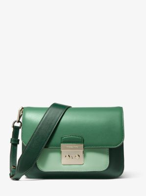 마이클 마이클 코어스 Michael Michael Kors Sloan Editor Tri-Color Leather Shoulder Bag