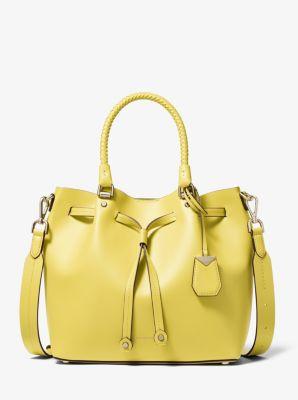 마이클 마이클 코어스 블레이클리 버킷백 미디움 - 3 컬러 (윤아, 김희애, 손예진, 이민정 착용) Michael Michael Kors Blakely Medium Leather Bucket Bag
