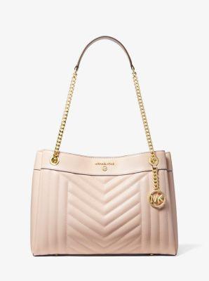 마이클 마이클 코어스 Michael Michael Kors Susan Medium Quilted Leather Shoulder Bag