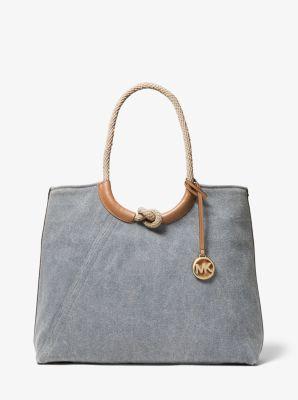 마이클 마이클 코어스 Michael Michael Kors Isla Large Canvas Tote Bag