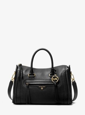 마이클 마이클 코어스 카린백 미디움 - 5 컬러 (조이 착용) Michael Michael Kors Michael Kors Carine Medium Pebbled Leather Satchel