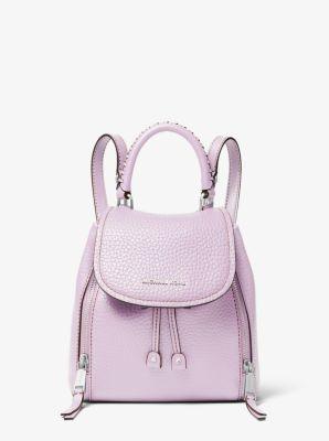 마이클 마이클 코어스 비브 백팩 스몰 Michael Michael Kors Viv Extra-Small Pebbled Leather Backpack