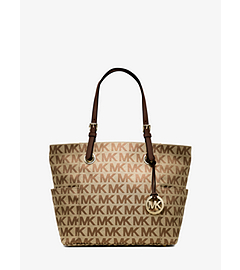 Jet Set Logo Tote by Michael Kors