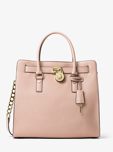 Hamilton Large Saffiano Leather Tote by Michael Kors