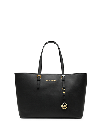 Jet Set Travel Multifunction Saffiano Leather Tote by Michael Kors