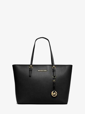 $222.4 Michael Kors Jet Set Travel Saffiano Leather Top-Zip Tote (Dealmoon Singles Day Exclusive!)