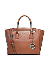Sophie Large Leather Satchel