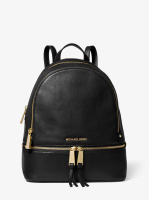 Rhea Medium Leather Backpack | Michael Kors