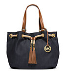 Marina Large Denim Tote